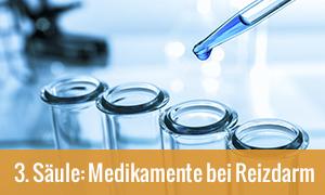 Medikamente bei Reizdarm : 3. Säule der Theraphie
